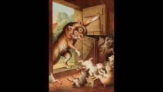 Вълкът и седемте козлета- Детски приказки