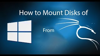 How to Mount windows disk partition in kali linux 2 0