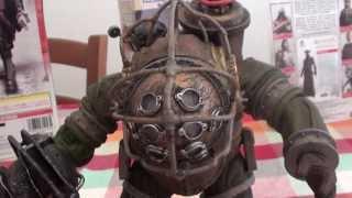 Neca Bioshock 2 big daddy action figure  unboxing