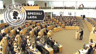 Speciali Laisvės TV laida iš parlamento. 5 dienos po mitingo    R.I.T.A.    Speciali laida