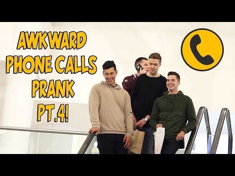 AWKWARD PHONE CALLS ON THE ESCALATOR