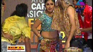 Archana Suseelan performing for plus show