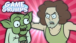 Game Grumps Animated - YODA JOKES - by Mike Bedsole