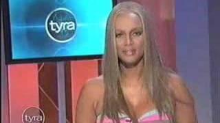 Tyra Banks: KISS MY FAT ASS. :]