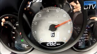 2013 Porsche 981 Boxster S (315hp) - 0-280 km/h (1080p FULL HD)