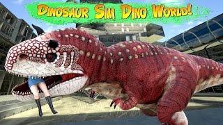 Dinosaur Hunter Dino City 2017 (by HGamesArt) Android Gameplay [HD]