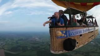 Amazing Hot Air Balloon in 360 VR, Utrecht