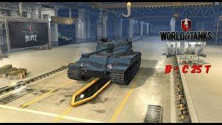 B - C 25 T - World of Tanks Blitz + Mastery
