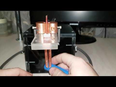 Контактная сварка из микроволновки с регулировкой времени