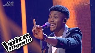 "Michael sings ""Never Too Much"" / Live Show / The Voice Nigeria 2016"