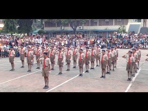 Xxx Mp4 Champion Mabini NHS Senior Scout Fancy Drill 2015 Davao Council 3gp Sex