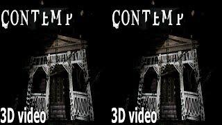 3D VR TV horror video Contemp Side by Side SBS google cardboard