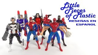 Spider-Man The Animated Series Wave 5 Juguete Reseña Action Figure Toy Review Little Pieces Plastic
