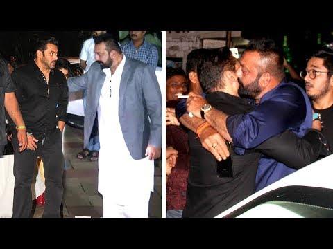 Xxx Mp4 Salman Khan HUGS Sanjay Dutt Ends FIGHT At His Diwali Party 2017 3gp Sex
