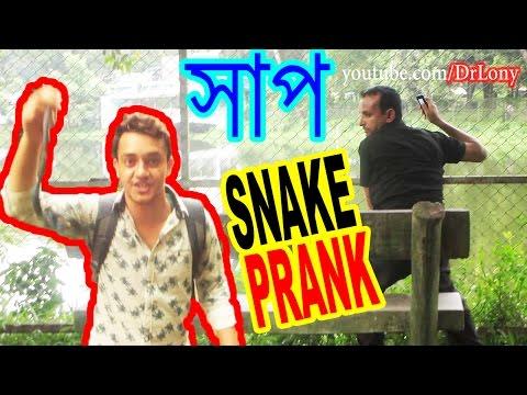 Snake On The Loose Prank 🐍 . Pranks . New Bangla Funny Video . Dr.Lony ✔️