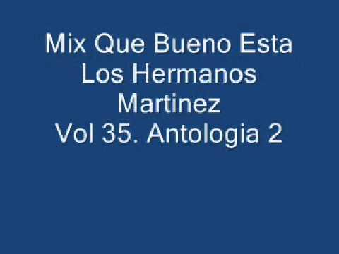 Los Hermanos Martinez Mix Que Bueno Esta Vol 35