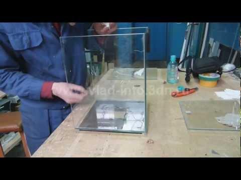 Как заменить стекло в аквариуме своими руками