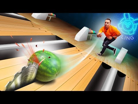 Table Saw Bowling Challenge