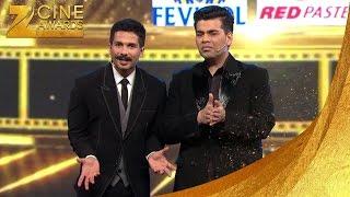 Zee Cine Awards 2016 Shahid & karan's funny act