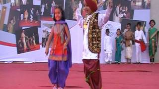 Little Celebrities  Punjabi Dance in Cummins Turbo Technology Annual Family Day celebration 2012.