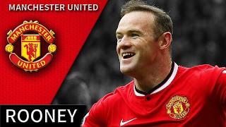 Wayne Rooney • Manchester United • Best Skills & Goals • HD 720p