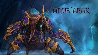 Heroes of the Storm: Anub'arak Trailer