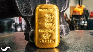 CAN YOU FORGE SOLID GOLD?!?!