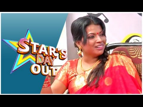 Actress  Kaajal Pasupathi  in Stars Day Out (31/01/2015)