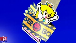 Paper Mario: Color Splash - Princess Peach is kidnapped by Black Bowser
