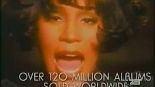 Whitney Houston - Lifetime Achievement Award Recipient (2001)
