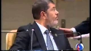 كلمة الرئيس مرسي في ايران والوفد السوري ينسحب