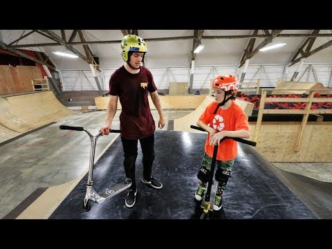 Ryan Williams VS 12 Year Old Scooter Kid Game of SCOOT