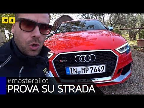 Audi RS3 RS5 e TT RS con Audi Sport da Firenze a Misano per roadNtrack 2017 Masterpilot vlog