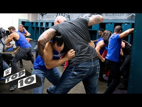 Xxx Mp4 Wildest Locker Room Brawls WWE Top 10 March 19 2018 3gp Sex