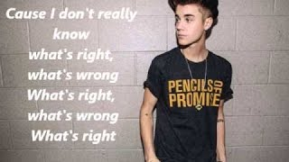 Justin Bieber - Playtime Ft. Khalil (Official LYRICS Video)