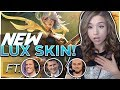 POKI PLAYS NEW LUNAR EMPRESS LUX SKIN & FACES LCS CASTERS!