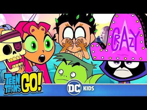 Xxx Mp4 Teen Titans Go Crazy Day At The Titans Tower DC Kids 3gp Sex