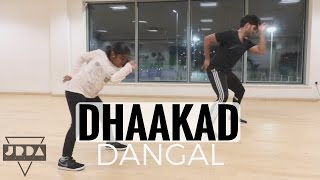 Dhaakad  Dangal DANCE | Aamir Khan | Pritam | Amitabh | Raftaar @JeyaRaveendran Choreography