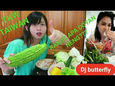 Xxx Mp4 KEHEBOHAN TKW TAIWAN MAKAN ALA DJ BUTTERFLY 3gp Sex