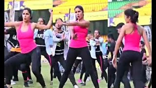 Katrina Kaif Dance Rehearsal Video At ISL Opening Ceremony 2017