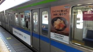 東武アーバンパークライン10030系ファミリーマート広告編成「回送」@春日部駅発車