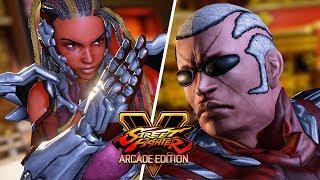Street Fighter 5 AE - RAVEN vs MASTER RAVEN (Tekken) Gameplay PC Mod @ 1080p (60ᶠᵖˢ) HD ✔