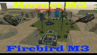 Tanki online - Firebird M3 Hornet M3 - gameplay #8 - Iran DM