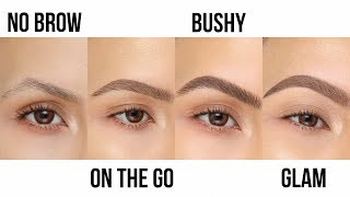 HOW TO: TOP 3 BEST BROW STYLES | DESI PERKINS