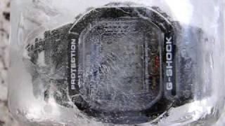 G-shock DW5600e freeze test