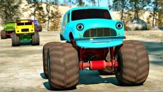 Развивающие мультфильмы про машинки. Самые крутые гонки на машинах. Часть 3.