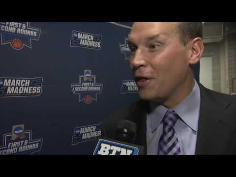 Chris Collins on Northwestern s Loss to Gonzaga