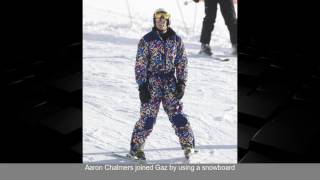 Geordie Shore stars Chloe Ferry -  Gaz Beadle and Scotty T hit the slopes as they leave Newcast...