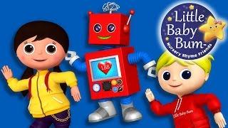 Robot Song | Nursery Rhymes | Original Song By LittleBabyBum!