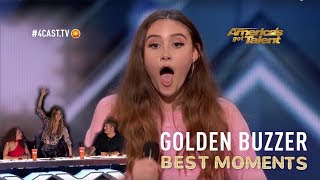 AGT WOW MOMENTS | Makayla Phillips Heidi Klum
